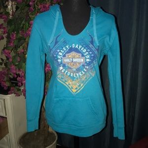 💙Harley Davidson pull over 💙 size M BEAUTIFUL